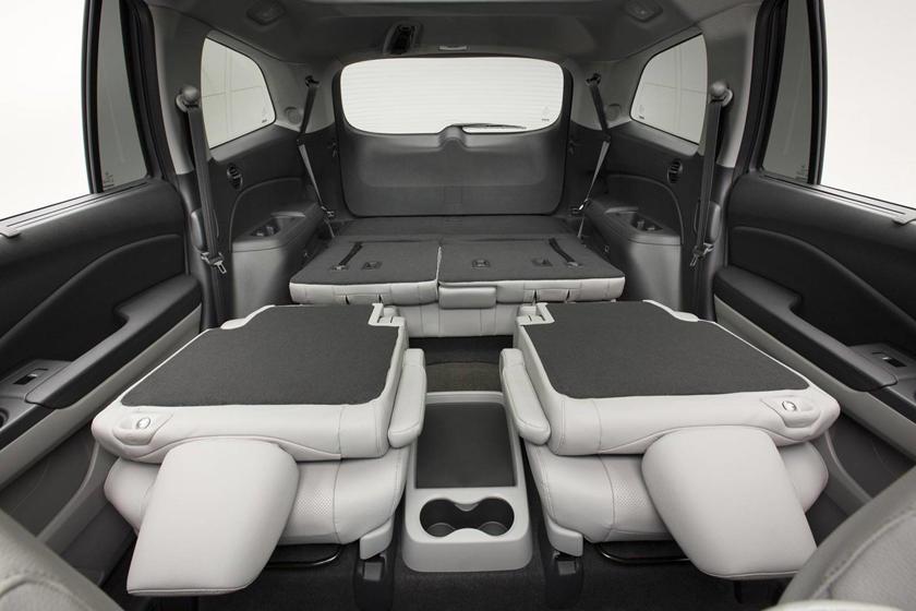 2017 Honda Pilot Elite w/Navigation and Rear Entertainment System 4dr SUV Interior