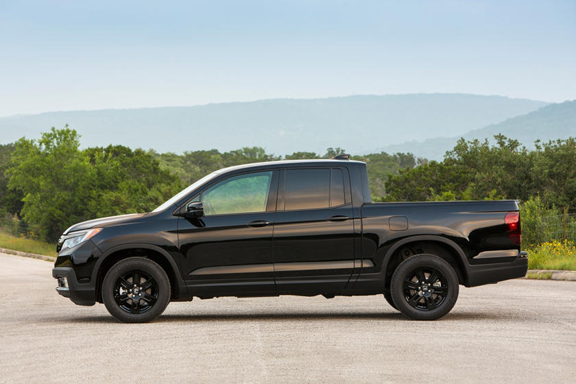 2018 Honda Ridgeline Black Edition Crew Cab Pickup Profile