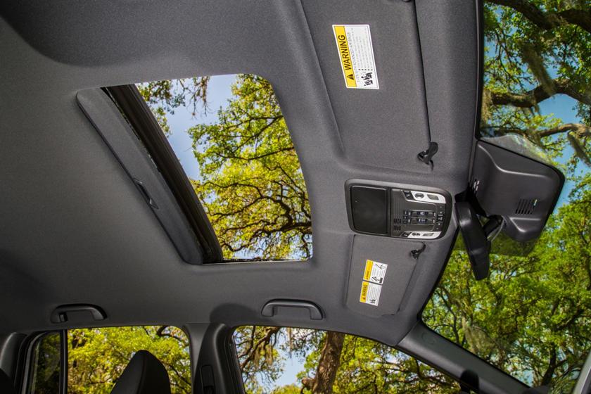 2018 Honda Ridgeline RTL-E Crew Cab Pickup Sunroof Detail