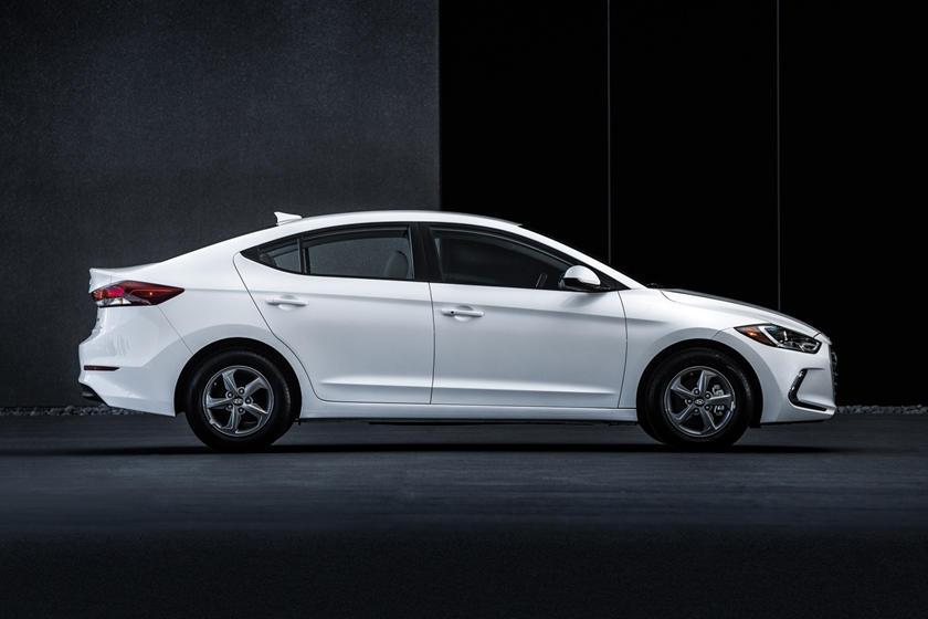 2018 Hyundai Elantra Eco Sedan Profile