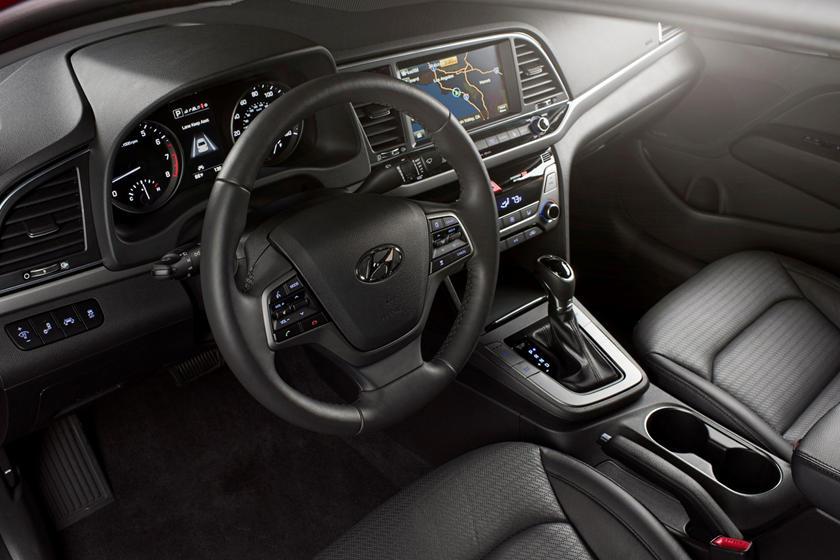 2018 Hyundai Elantra Limited Sedan Interior