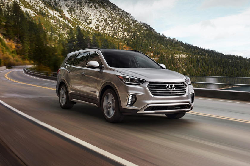 2018 Hyundai Santa Fe Limited Ultimate 4dr SUV Exterior Shown