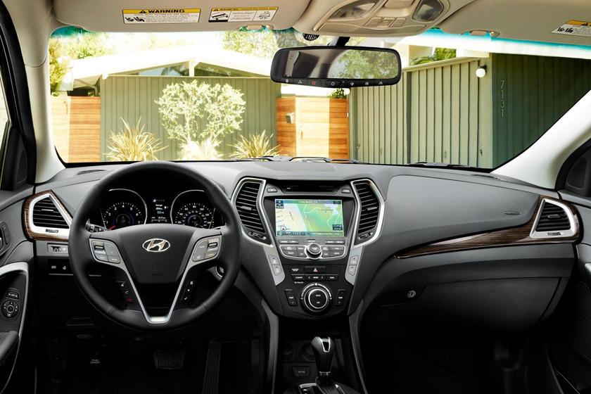 2018 Hyundai Santa Fe Sport 2.0T 4dr SUV Dashboard