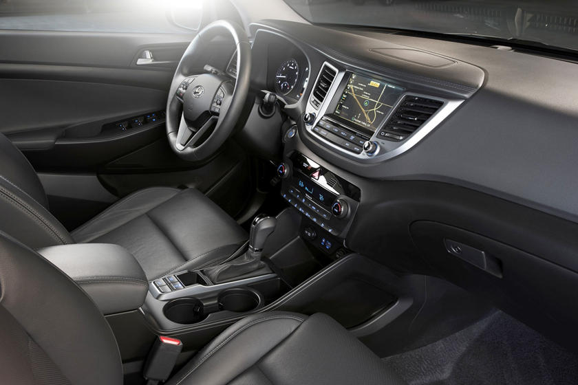 2017 Hyundai Tucson Limited 4dr SUV Interior Shown