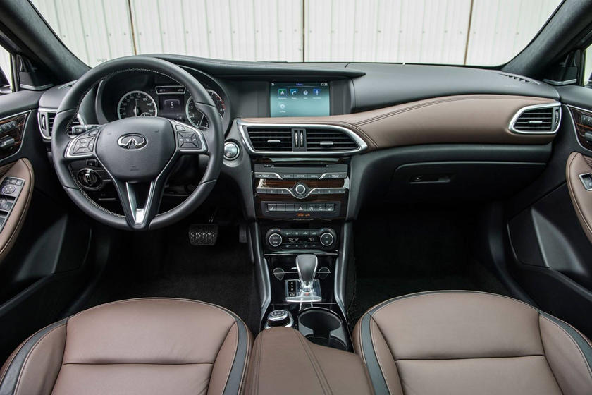 2018 INFINITI QX30 Premium 4dr SUV Dashboard Shown