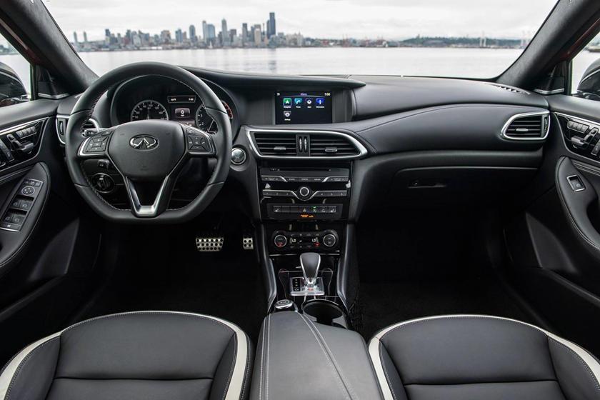 2018 INFINITI QX30 Sport 4dr SUV Dashboard