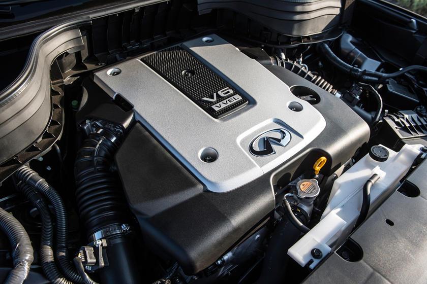 2017 INFINITI QX50 4dr SUV 3.7L V6 Engine Shown
