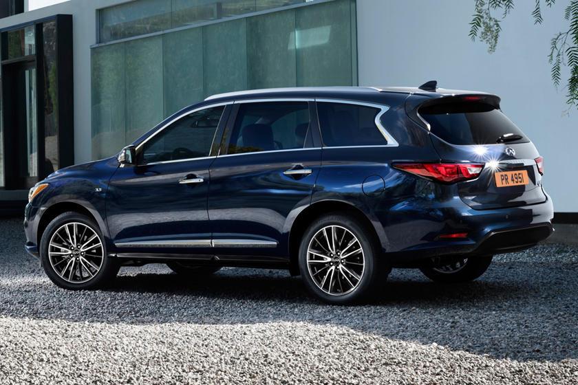 2017 INFINITI QX60 4dr SUV Exterior Shown