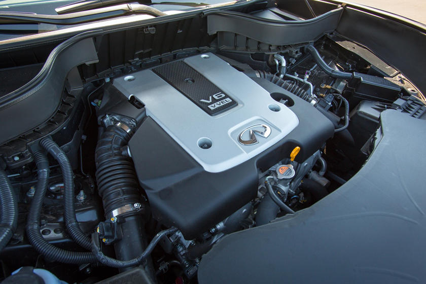 2017 INFINITI QX70 4dr SUV 3.7L V6 Engine