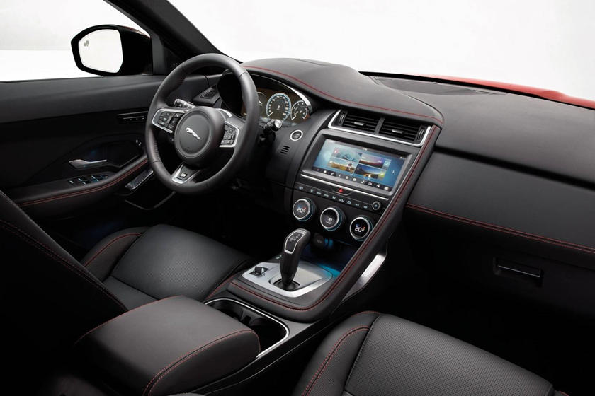 2018 Jaguar E-PACE P250 First Edition 4dr SUV Dashboard Shown