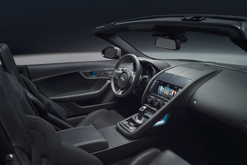 2018 Jaguar F-TYPE R-Dynamic Convertible Dashboard Shown