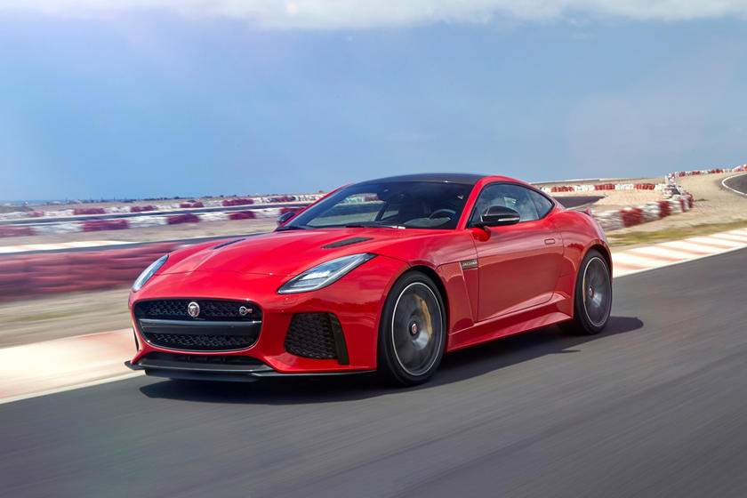 2018 jaguar f-type svr coupe review,trims, specs and price - carbuzz