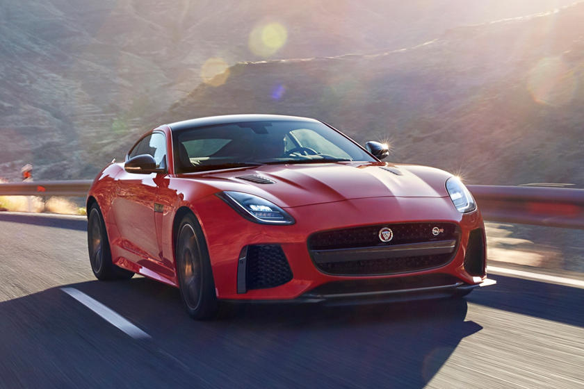 2018 Jaguar F-TYPE SVR Coupe Exterior
