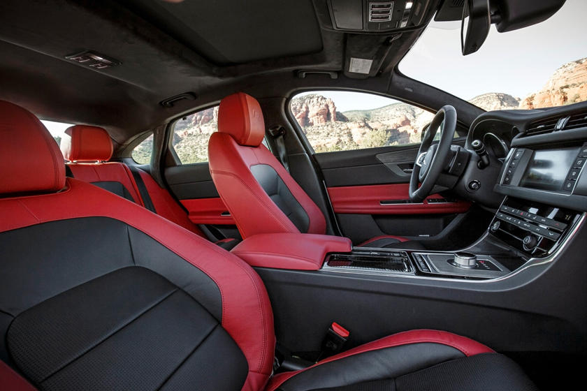 2018 Jaguar XF S Sedan Interior