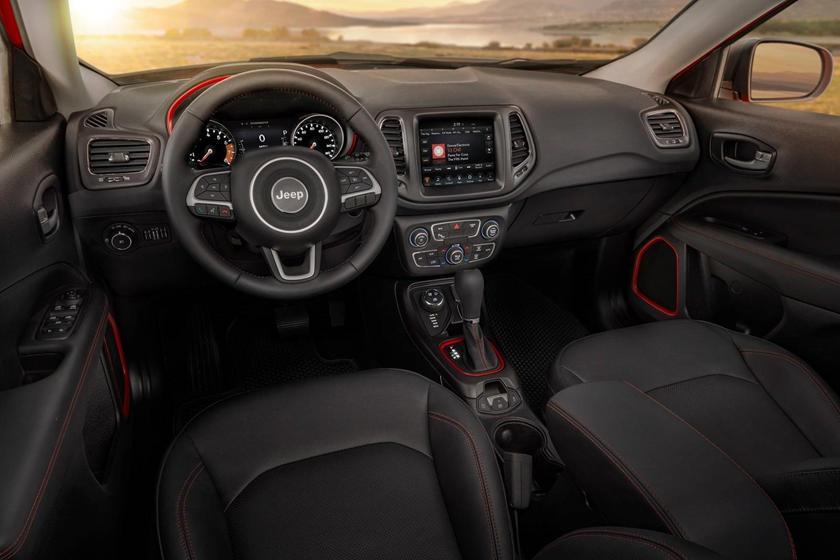 2018 Jeep Compass Trailhawk 4dr SUV Dashboard