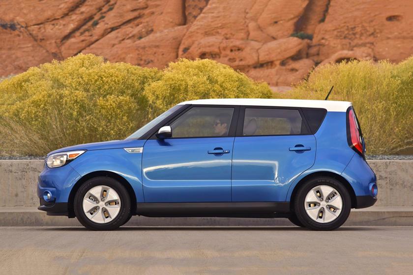 2017 Kia Soul EV + Wagon Exterior