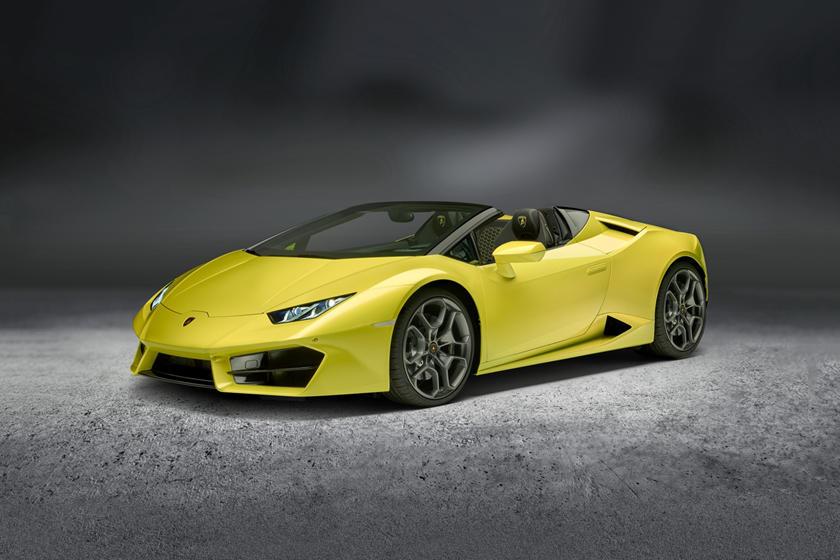 2017 Lamborghini Huracan LP 580-2 Spyder Convertible Exterior