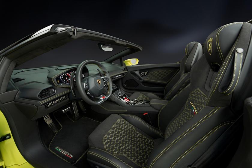 2017 Lamborghini Huracan LP 580-2 Spyder Convertible Interior