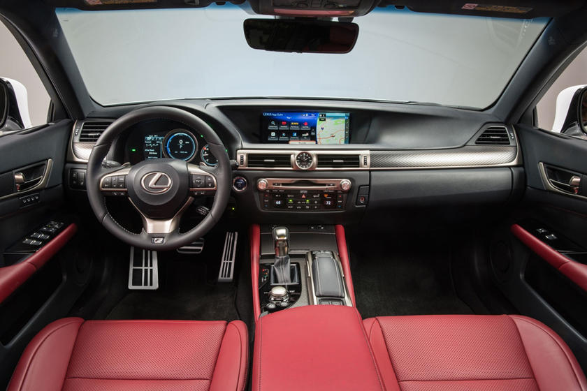 2017 Lexus GS 450h F SPORT Sedan Dashboard Shown