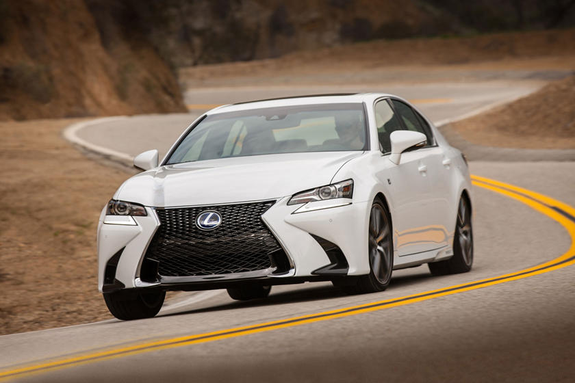 2017 Lexus GS 450h F SPORT Sedan Exterior Shown