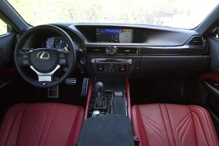 2017 Lexus GS F Sedan Dashboard