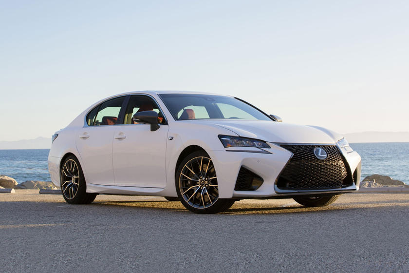 2017 Lexus GS F Sedan Exterior