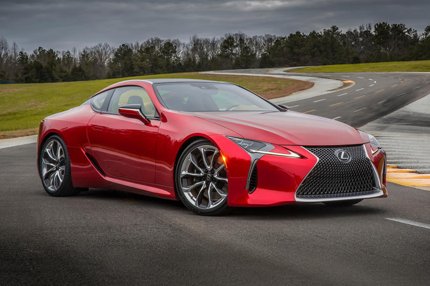2018 Lexus Lc Review Trims Specs And Price Carbuzz