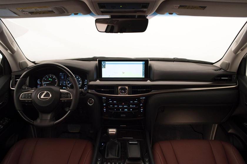 2017 Lexus LX 570 4dr SUV Dashboard