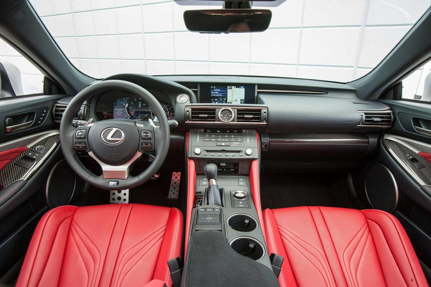 2017 Lexus RC F Coupe Dashboard