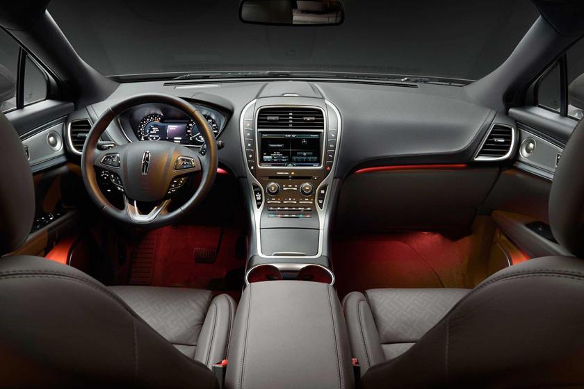 2017 Lincoln MKX Black Label 4dr SUV Dashboard. Muse Theme Shown.