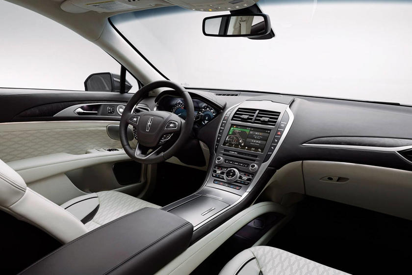 2018 Lincoln MKZ Black Label Sedan Interior Shown