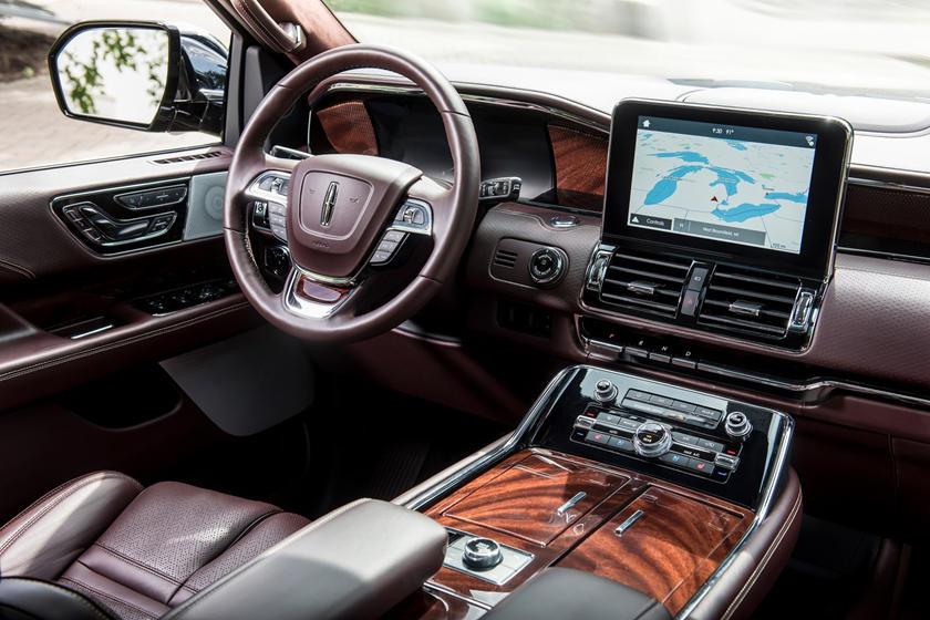 2018 Lincoln Navigator L Black Label 4dr SUV Interior