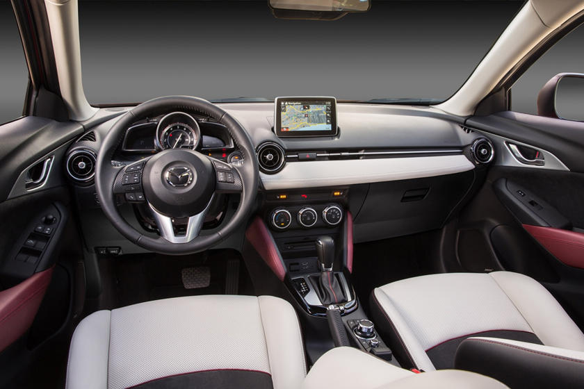 Mazda CX-3 Grand Touring 4dr SUV Dashboard Shown