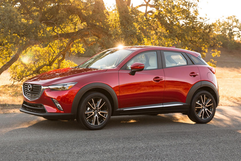 Mazda CX-3 Grand Touring 4dr SUV Exterior Shown