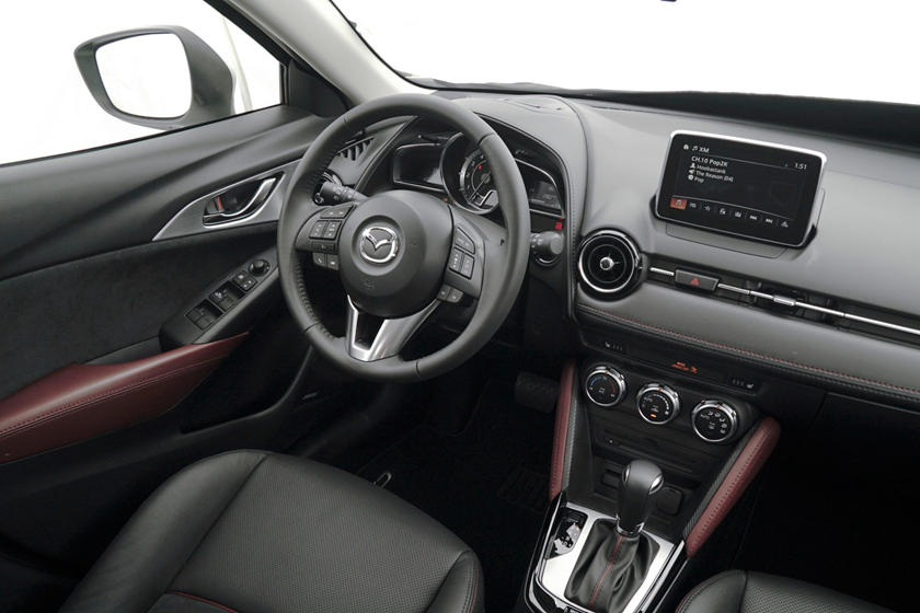 Mazda CX-3 Grand Touring 4dr SUV Steering Wheel Detail