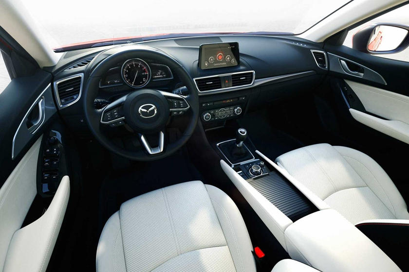 2018 Mazda 3 Grand Touring 4dr Hatchback Dashboard Shown