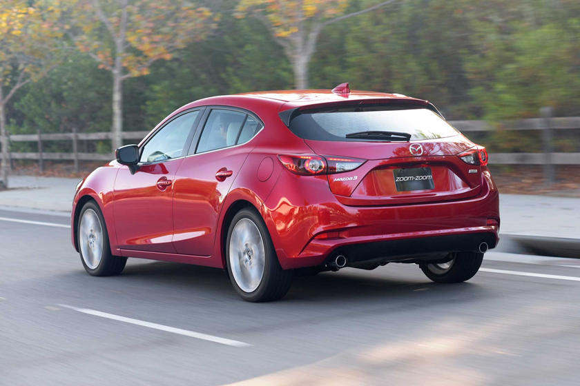 2018 Mazda 3 Grand Touring 4dr Hatchback Exterior Shown