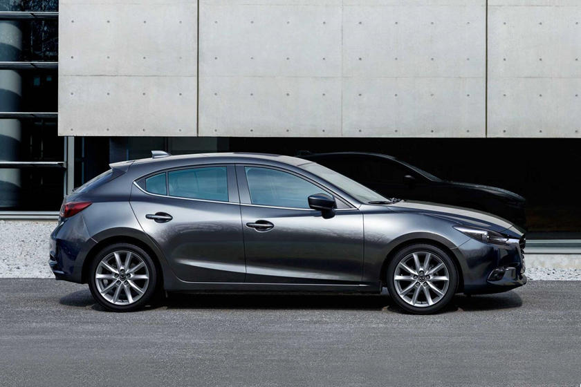 2018 Mazda 3 Grand Touring 4dr Hatchback Profile Shown