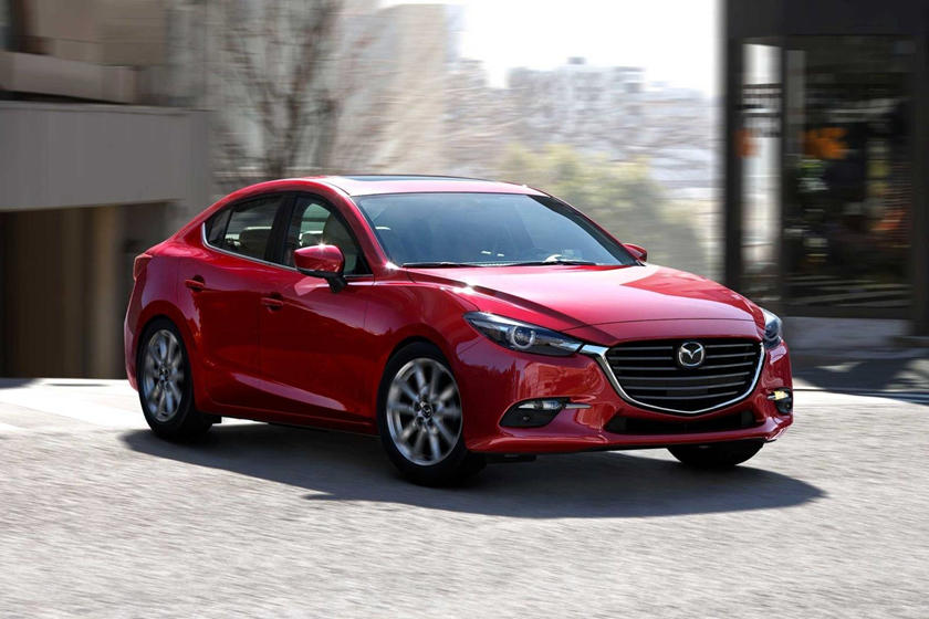 2018 Mazda 3 Grand Touring Sedan Exterior Shown