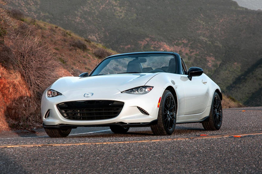 2017 Mazda MX-5 Miata Club Convertible Exterior Shown