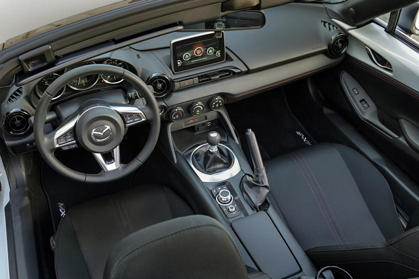 2017 Mazda MX-5 Miata Club Convertible Interior Shown