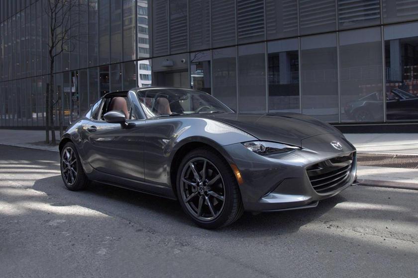 2017 Mazda MX-5 Miata RF Launch Edition Convertible Exterior Shown