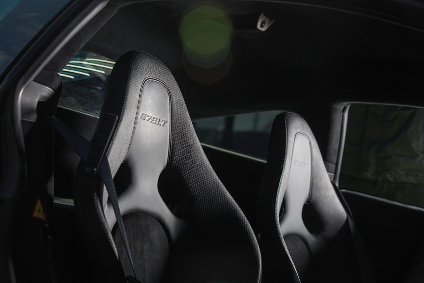 2016 McLaren 675LT Coupe Interior Detail