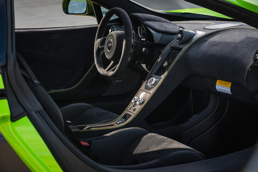 2016 McLaren 675LT Coupe Interior