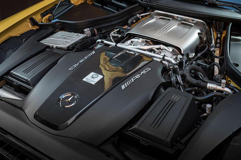 2018 Mercedes-Benz AMG GT C Convertible 4.0L V8 Turbo Engine