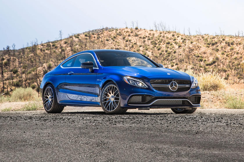 2018 Mercedes-Benz C-Class AMG C 63 S Coupe Exterior Shown
