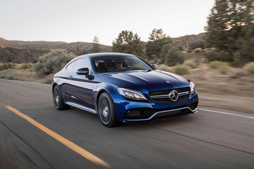 2018 Mercedes-Benz C-Class AMG C 63 S Coupe Exterior Shown