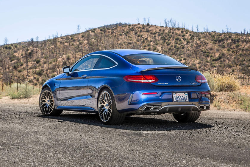2018 Mercedes-Benz C-Class AMG C 63 S Coupe Exterior
