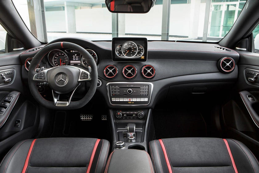 2018 Mercedes-Benz CLA-Class AMG CLA 45 Sedan Dashboard. European Model Shown.