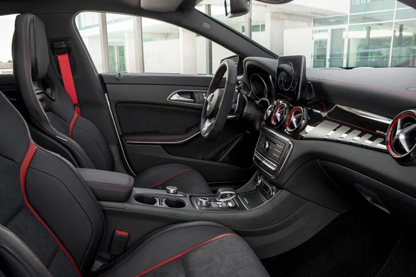 2018 Mercedes-Benz CLA-Class AMG CLA 45 Sedan Interior. European Model Shown.